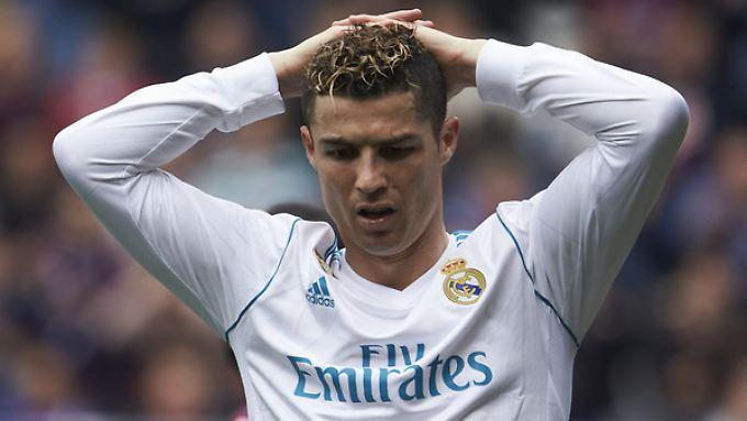 Fast zehn Jahre, von 2009 bis 2018, lief Ronaldo für den spanischen Rekordmeister auf.