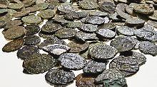 Fundsache, Nr. 1386: Münzschatz auf Acker in NRW entdeckt