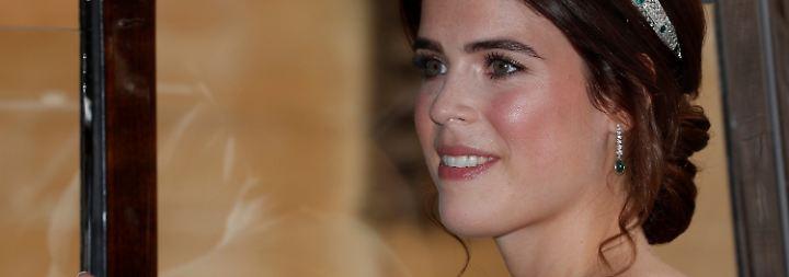 Prinzessin unter der Haube: Wind verweht Eugenies Hochzeit