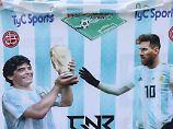 Der Sport-Tag: Maradona verpasst Messi verbale Ohrfeige