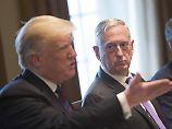 """Mattis """"ist eine Art Demokrat"""": Trump rechnet mit weiterem Minister-Rücktritt"""