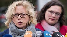 Wer ist schuld am Debakel?: SPD fällt in Bayern unter zehn Prozent
