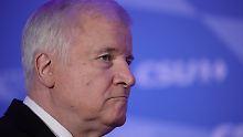 Niederlage ohne Folgen?: Horst Seehofer denkt nicht an Rücktritt