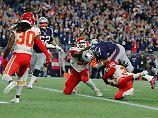 Star-Quarterback Tom Brady hat sich im NFL-Spiel gegen die Kansas City Chiefs einmal mehr als Glücksfall für seine New England Patriots erwiesen.