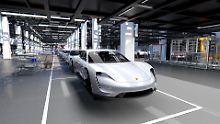 1200 neue Arbeitsplätze will Porsche mit der Produktion des Taycan schaffen.