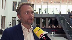 """Lindner zum knappen Bayern-Ergebnis: """"Sysiphos als glücklichen Menschen vorstellen"""""""