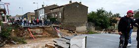 """""""Das Wasser ist überall"""": Mehrere Tote bei Unwettern in Frankreich"""