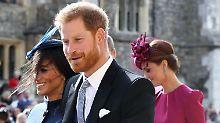 Alle Briten happy: Viele Glückwünsche an Harry und Meghan