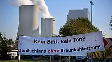 Angst vor Jobverlust: RWE-Mitarbeiter blockieren Tagebaue