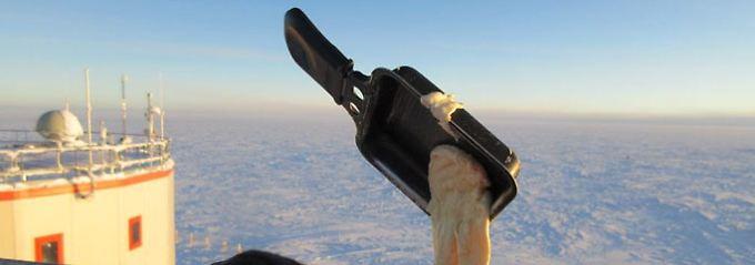 Kochen in der Antarktis: Kälte bringt Essen zum Schweben