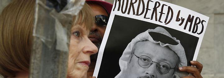 Angebliches Teilgeständnis: Bericht aus Riad soll Khashoggis Tod als Versehen darstellen