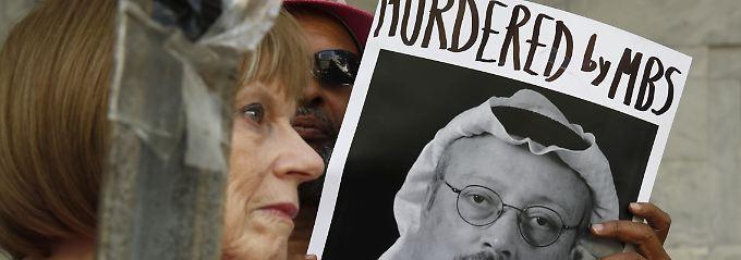 Möglicher Mord an Khashoggi: Verdächtiger war Begleiter des Kronprinzen