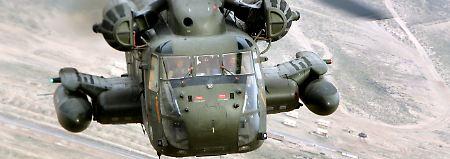 Vorfall in Afghanistan: Angreifer feuern auf deutsche Hubschrauber