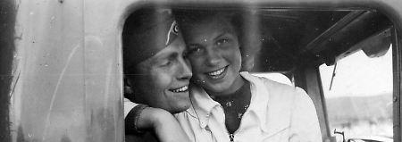 Archivaufnahme aus den Beständen des Stadtmuseums von Oslo: In zehntausenden Fällen kam es zu Liebesbeziehungen zwischen Norweggerinnen und Soldaten der Besatzungsmacht.