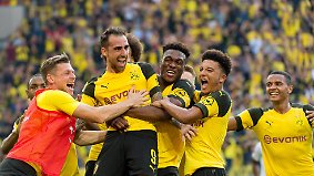 Fünf Fakten vor dem 8. Spieltag: Bullen knipsen eilig, Borussen jokern phänomenal