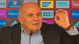 Medienschelte im Originalton: Hoeneß schießt gegen Sportredakteure von n-tv