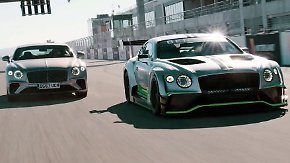 24 Stunden Highspeed-Achterbahnfahrt: Bentley kitzelt neuen Continental GT in Kurven von Spa