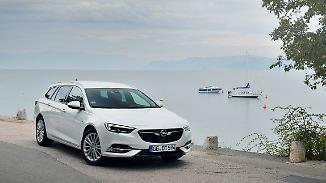Von außen sieht man dem Opel Insignia das neue Triebwerk nicht an und so ist er einfach nur schick.
