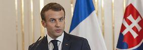 """""""Nichts mit Khashoggi zu tun"""": Macron will Saudis weiter Waffen verkaufen"""