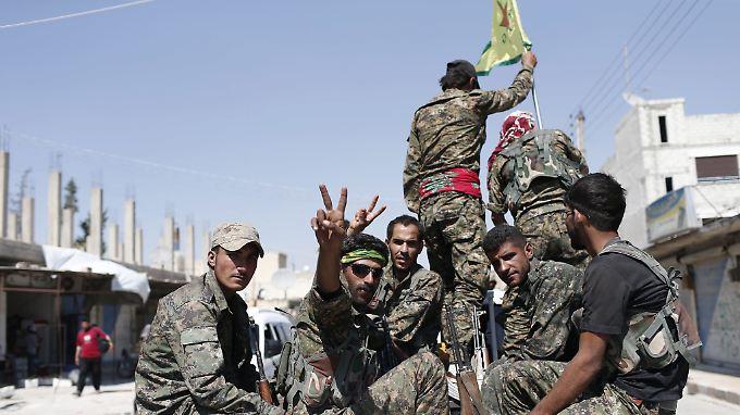 Bereits vor drei Jahren rückten die SDF in die einstige Hauptstadt des IS, Rakka, vor.