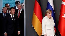 Vierer-Gipfel zu Syrien: Verfassungskomitee soll Frieden bringen