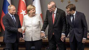 Neuer Anlauf für den Frieden: Vierergipfel berät über Syriens Zukunft