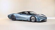 Schön ist der McLaren Speedtail nicht, aber dafür schnell. Sehr schnell.