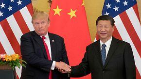 Nächste Eskalation im Handelsstreit?: Trump droht mit Strafzöllen auf alle chinesischen Produkte
