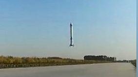 Erolgreicher Test mit Changzheng-6X: China gelingt stehende Raketenlandung