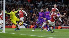 Temporeicher Schlagabtausch: Arsenal bietet Liverpool die Stirn