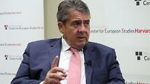 Partei nur noch bei 13 Prozent: Gabriel warnt SPD vor Bedeutungslosigkeit