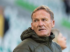 """""""Im Fußball halte ich alles für möglich"""": Hans-Joachim Watzke."""