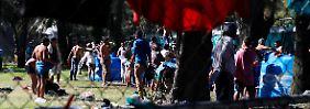 Auswandererzug gen USA: Tausende beantragen Asyl in Mexiko