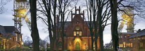 Die Dortmunder Zeche Zollern war bei ihrer Einwehung die Musterzecher der Geselenkirchener Bergwerks AG.