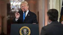 CNN-Mann verliert Akkreditierung: Trump liefert sich Wortgefecht mit Presse