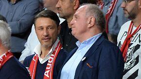 Münchner Wirren vor BVB-Kracher: Hoeneß kündigt Rückzug an und predigt Kovac-Mantra