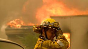 250.000 Kalifornier auf der Flucht: Flammen zerstören ganze Städte
