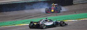 "Vettel in Brasilien abgeschlagen: Hamilton siegt dank ""Idioten-""Kollision"