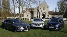 Renault peppt seine drei großen Modelle auf: Talisman, Koleos und Espace.