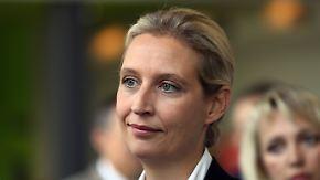 Dubiose Wahlkampfhilfe aus der Schweiz: AfD-Landeschef: Weidel soll Verantwortung für Spende tragen