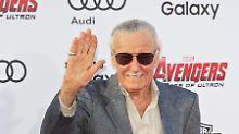 Er wurde 95 Jahre alt: Superhelden-Schöpfer Stan Lee gestorben