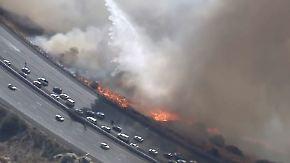 Feuerinferno in Kalifornien: Frau filmt traumatische Flucht durch die Flammen