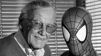 Verstorbene Comic-Legende: Stan Lee gab den Helden Menschlichkeit