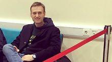 """""""Verlassen des Landes verboten"""": Kremlkritiker Nawalny an Ausreise gehindert"""