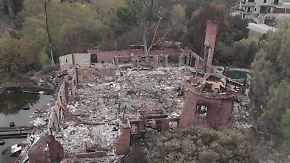 """""""Flammen schlugen 12 Meter in die Luft"""": Gottschalks Nachbar berichtet vom Feuerinferno"""