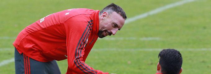Ohrfeigen nach BVB-Spiel: Ribery entschuldigt sich bei TV-Reporter
