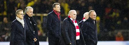 Bayern-Präsident Uli Hoeneß plant zur neuen Saison offenbar einen Großeinkauf.
