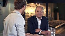 """""""Klamroths Konter"""" auf n-tv: Scholz: """"Hartz IV ist mit Misstrauen gespickt"""""""