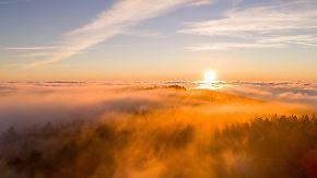 Reichlich Sonne, fallende Temperaturen: Der Frühwinter klopft an