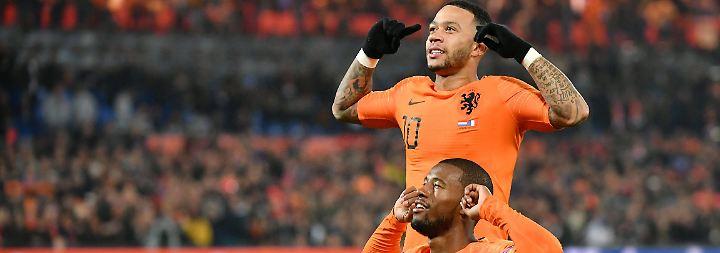 Letzter Platz in Nations League: DFB-Team steigt nach Niederlande-Sieg ab